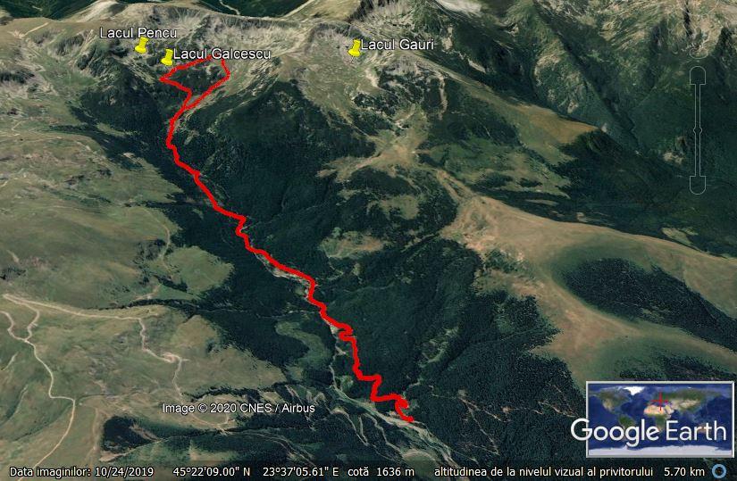 GE Transalpina Lac Galcescu si retur