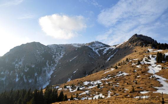 Muntii Siriu – Varful Siriu (Bocarnea) pe zapada si vant