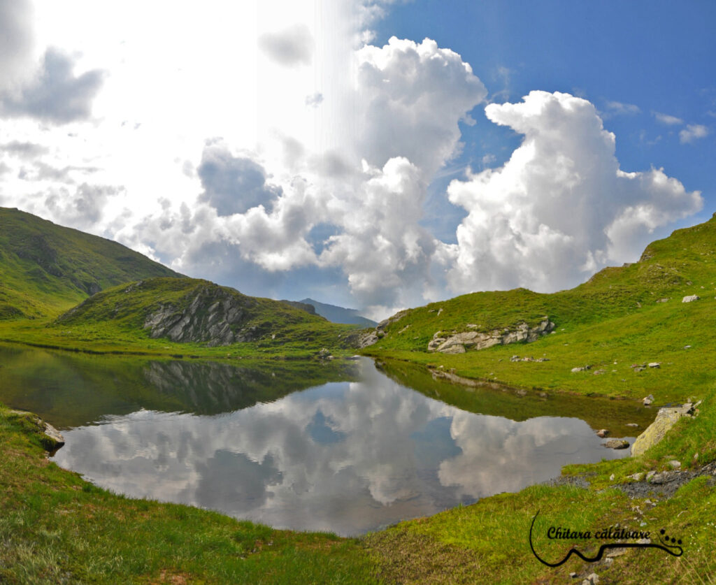 Panorama 02 Lac de langa Capra