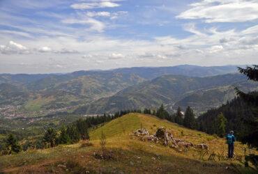 Munții Giurgeu-Hășmaș: vârful  Munticelu